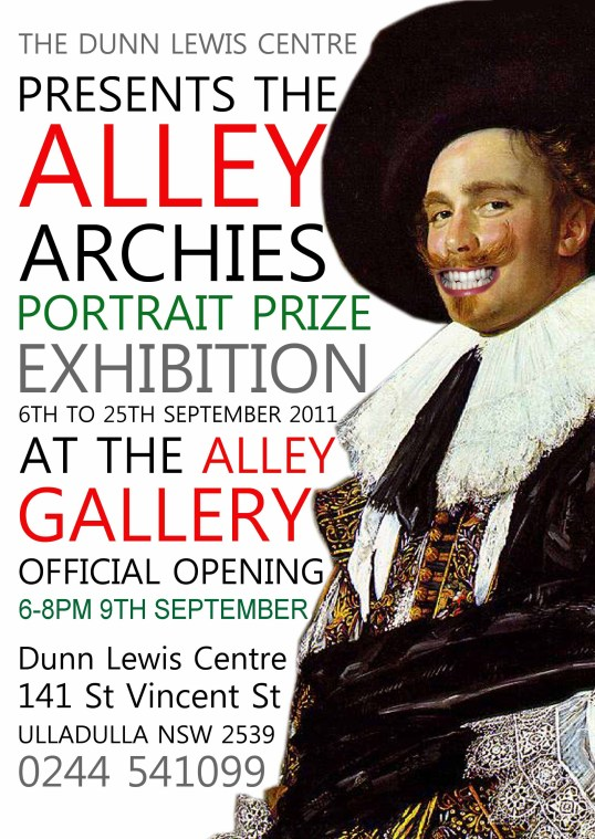 Alley Archies - Entries Close 29th August